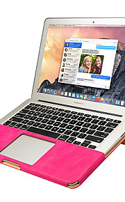 jisoncase portable double support de protection de la couleur de l'appareil étui pour Apple Mac Book Air 11,6 ""