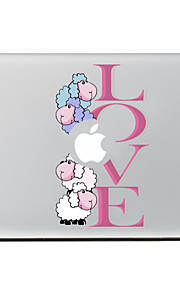 de schapen liefde decoratieve skin sticker voor MacBook Air / Pro / Pro met Retina-display