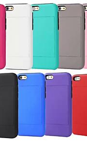 4.7 inch card cassettehouder telefoon Case voor iPhone 6 (diverse kleuren)