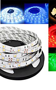 ding yao 5 m 300led 2835 smd varm hvit / hvit / rød / blå / grønn fleksible LED lys strimler DC12 v