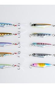 Hengjia Esche rigide/Jig/Esca metallica 15.7G g 10pcs pc 57 Pesca di mare/Pesca di acqua dolce/Pesca con esca