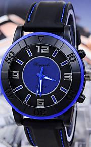 relógios de moda linha carro esporte dos homens com relógio de silicone