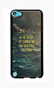 In The Waves Design Aluminum High Quality Case for iPod Touch 5