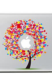 amore albero autoadesivo della pelle decorativa per l'aria macbook / pro / pro con display retina