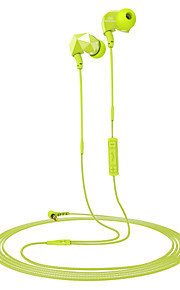 Sound Intone E6 Sports Headphones Noise Isolating Earphones with In-line Microphone and Remote Volume Control