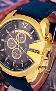 dos homens esportes relógios de moda de lazer relógio legal super-v6 cinto marcação grande
