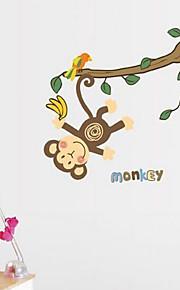 Multifunktions-DIY PVC-monkey Muster dekorative Aufkleber