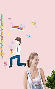 Multifunktions-DIY PVC-glückliche Liebe dekorative Aufkleber