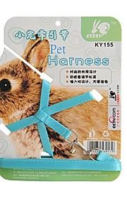 Portable Fashion Design Pets Harness for Guinea Pigs and Lop Rabbit (Random Colours)