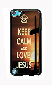 Keep Calm and Love Jesus Design Aluminum High Quality Case for iPod Touch 5