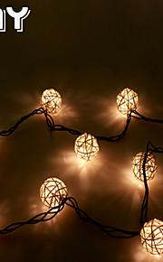 GMY jul lys rotting ball streng lys