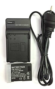 UK / EU / AU 8.4V en-EL14 / el14a Ladegerät + (1pcs) Batterie für Nikon D3200 D3100 D5200 D5300 d5100p p7800 p7000