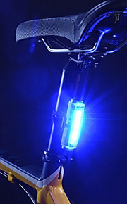 Caoku 3 Mode 100 Tail Lights Battery 1 Cell Batteries Rechargeable Cycling 200 Blue