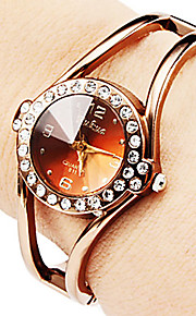 Women's Round Dial Hand Alloy  Band Quartz Analog  Fashion Watch