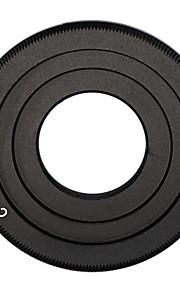 c-mount de lente preto filme cine para Canon EOS m m2 m3 lente da câmera anel adaptador de lente cctv c-eos m