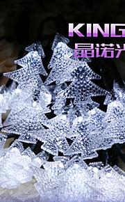 solar streng lys 6.5m 30led lys juletre dekorasjon lys fin bryllupsfesten lys