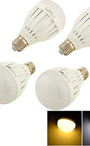 4個 YouOKLight E26/E27 5 W 10 SMD 5730 400 LM 温白色 / クールホワイト C 装飾用 ボール球 AC 85-265 V