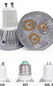 3W GU10 GU5.3(MR16) E26/E27 LED-spotpærer MR16 3 Høyeffekts-LED 260 lm Varm hvit Kjølig hvit Dekorativ AC 85-265 V 1 stk.