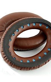 1 paio auricolari di ricambio cuscini per bose QuietComfort 15 QC15 QC2 AE2 ae2i cuffie (caffè marrone)