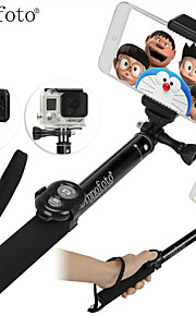 Sinnofoto S14 High Quality Extendable Aluminum Selfie stick with Remote Shutter for IOS Android Smart Phones