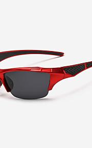 Solbriller menn's Klassisk / Sport Wrap Svart / Hvit / Rød / Blå Solbriller Halvkant