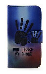 käytetyt kuvio PU nahka puhelin kotelo Samsung Galaxy J1 (2016) / galaxy J5 (2016)