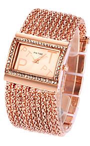 donne pintime strass signore vestono orologi al quarzo (colori assortiti)