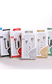 Geolis YX-122 High Quality 3.5mm Noise-Cancelling Mike In Ear Earphone for iPhone and Other Phones(Assorted Colors)