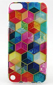 modello pittura diamante TPU custodia morbida per il tocco 5 / touch 6