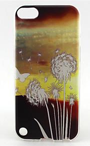 modello di amore pittura tarassaco TPU custodia morbida per il tocco 5 / touch 6