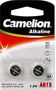 Camelion alkaline knoopcel grootte AG13 (2 stuks)