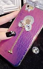 lady®elegant / personlighed telefon tilfældet for iphone6 / 6s (4.7), dekoreret med Camellia diamant, flere farver