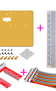 Acrylic + Bread Plate + U + Rainbow Line Experiment Platform Suite