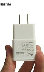 topwise caricatore del usb adattatore di alimentazione a muro per ipad iphone htc di Samsung ® ci spina 5v 2.1a ricarica veloce