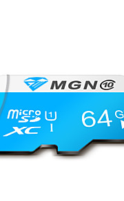 Original MGN 64GB Class 10 Micro SD SDHC TF Flash Memory Card High Speed Genuine