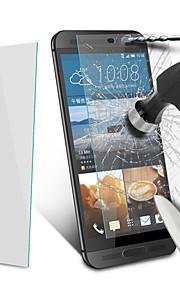 2.5d 0.3mm angibabe redondeado protector de pantalla de cristal templado borde de HTC uno e9 + 5,5 pulgadas