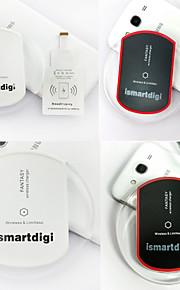 caricatore senza fili ismartdigi iw-wcs1-ip set per iPhone6 / 6plus / 5s / 5 (nero / bianco)