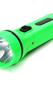 Flashlight Body LED 2 Mode 300 Lumens Rechargeable / Emergency / Small Size OthersCamping/Hiking/Caving / Everyday Use / Fishing /