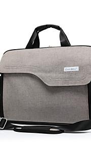 Mode große Kapazität 15,6-Zoll-Laptop-Aktenkoffer wasserdicht stoßfest Schulter Griff Tasche für MacBook / hp / sony