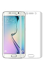 beittal® membrana morbido 0,2 millimetri schermo trasparente di protezione hd antideflagranti per bordo Samsung Galaxy S6 + (schermo