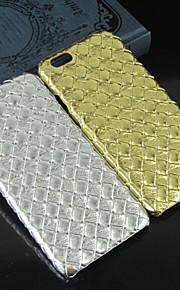 quadratischen Gittermuster pc schutz schwer rückseitigen Abdeckung für iphone 6 / 6S (verschiedene Farben)