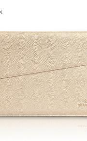 gearmax® no-glidelås kvinner menn mote PU lær vanntett futteral bag for MacBook Air 13 pro 13 med retina