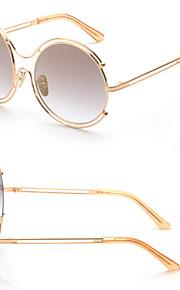 Solbriller kvinder's Moderne / Mode Oval Sølv / Guld Solbriller Full-Rim