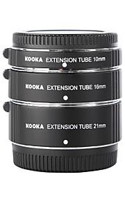 Kooka kk-ft47 af macro tubos de extensão para Olympus Panasonic micro quatro terços (10 mm, 16 mm, 21 milímetros) câmeras mirrorless