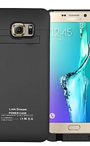 Link sogno di backup esterna caso di batteria 4500 mAh per il bordo Samsung Galaxy S6 + più