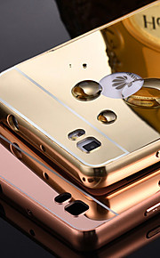 estructura de metal cromado y caja del teléfono backplane espejo para Huawei p8 / p8 Lite / honor6 / honor6 más / 4c / g7 / p7 (colores