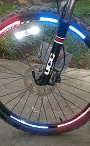 Bike Light , Bike Wheel Rims Luminous Reflective Stickers