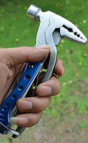 Fashion Multitools Stainless Steel Bottle Opener/Knives/Axes/Hammers Convenient Camping Outdoor(Random Color)
