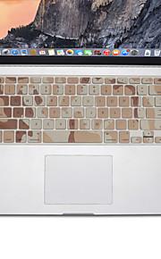 design mimetico pelle della copertura della tastiera del silicone per MacBook Air 13.3, MacBook Pro con retina 13 15 17 layout di noi