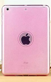 multicolor novo brilho de alta qualidade TPU translúcida casca mole para iPad mini 3/2/1 (cores sortidas)